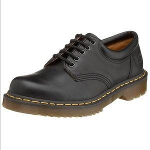 Dr. Martens Black Leather Oxfords